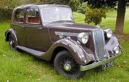 1939 16hp Four Light Saloon