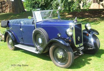 1929/30 15hp Open Tourer
