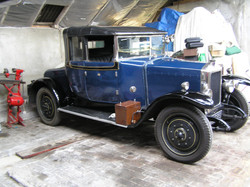 1927 14/4hp Salmons Special Coupe.