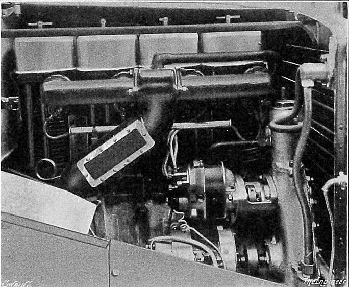 This is an Armstrong Siddeley engine fitted to the Pavesi.