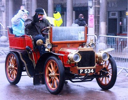 1902 Siddeley. Tonneau, Twin-cylinder, 8