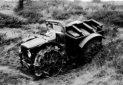 Pavesi Tractor made by Armstrong Siddeley