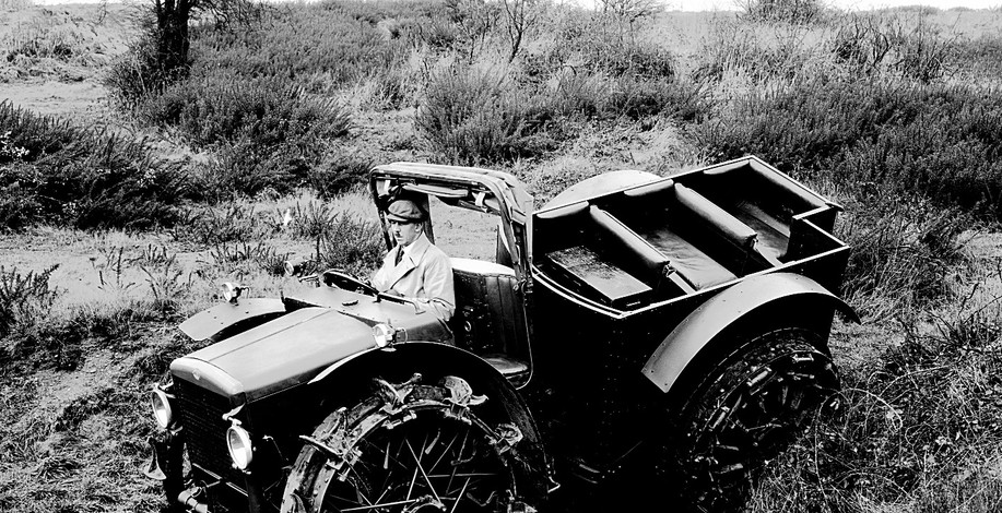 Pavesi Tractor under trial.