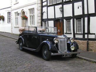 1936 17hp Maltby Redfern Tourer.