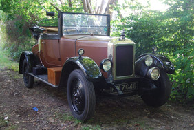 1926 14/4 Chiltern Coupe.