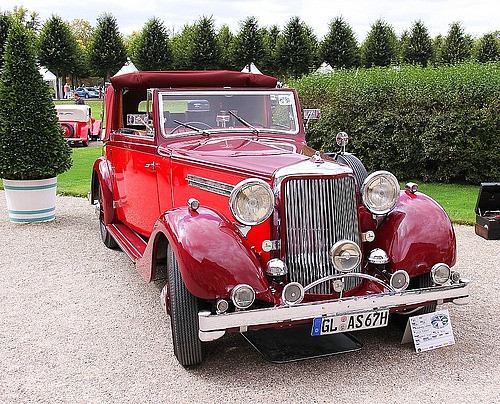1936 20/25 with Tickford DHC body