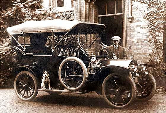 1907 Wolseley Siddeley Tourer