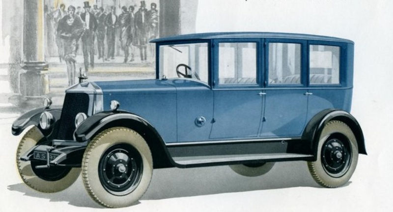 Armstrong Siddeley 1927 Mk II 18hp Stirl