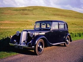 1938 16hp Coach Saloon