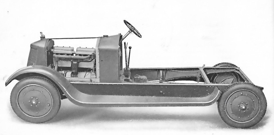 Armstrong Siddeley 1920 30hp Chassis