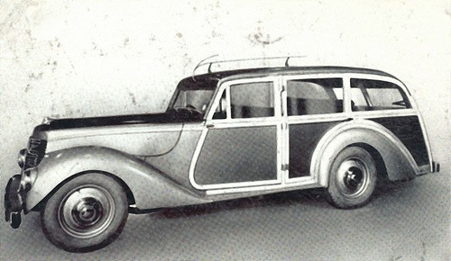 Whitley with an estate body by an unknown company.