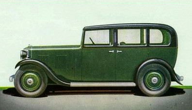 1935 12 plus (12 plus = 14hp engine) Saloon. This body looks very like the 12hp car it replaced.