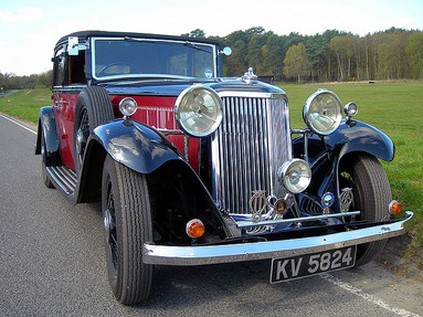 1933 Special with Tickford all weather convertable body.