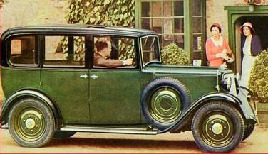 1933 12hp coach saloon.