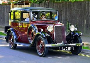 1935 12hp coach saloon.