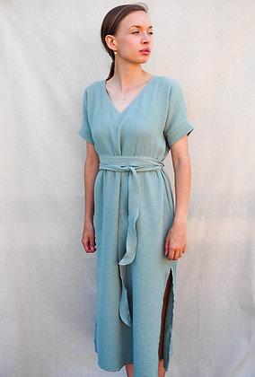 Šaty 2v1_mint
