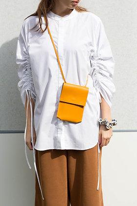 Mini kabelka minimal_okrová