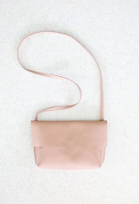 Kabelka minimal_bledo-ružová