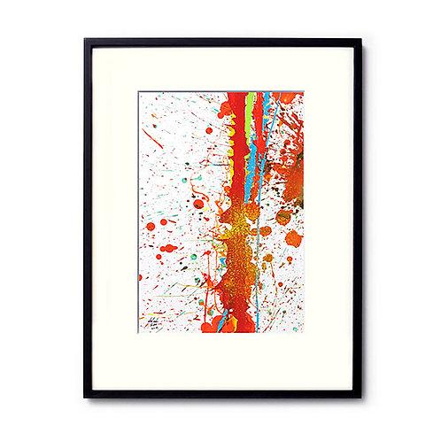今井アレクサンドル/絵画/Splash Painting14