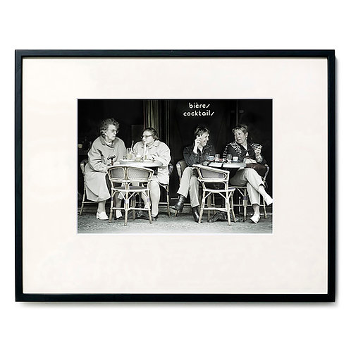 ムッシュ徳岡/パリ21区 24カフェのマダム達