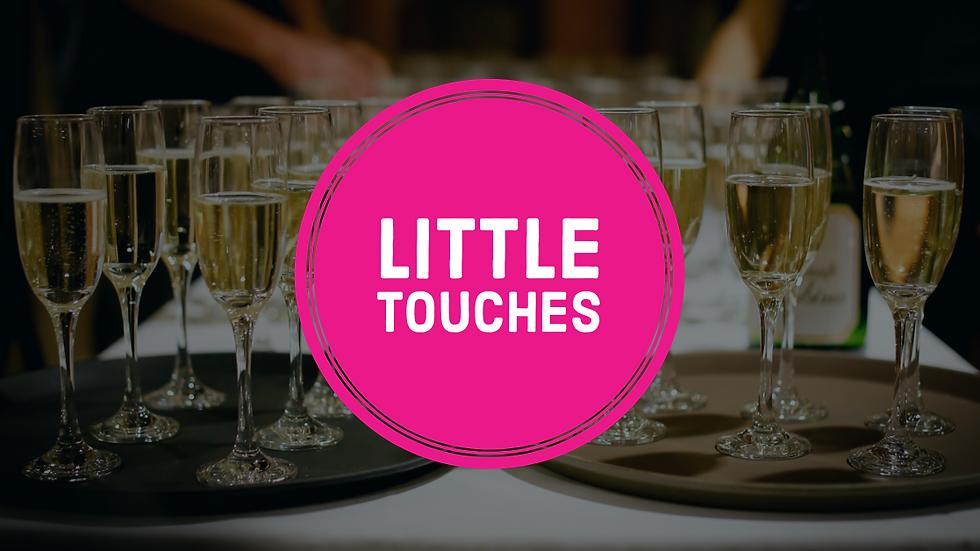 Wedding: Little Touches