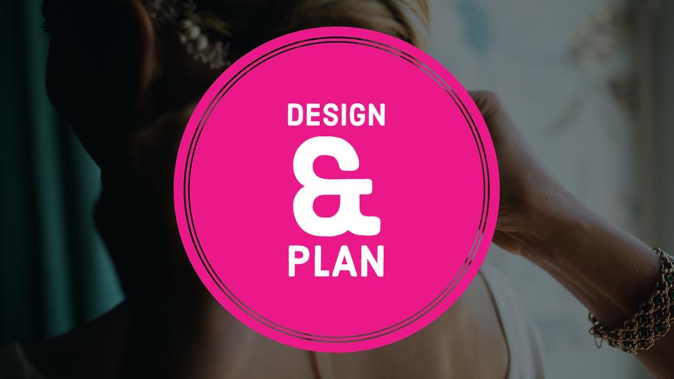 Wedding: Full Design & Plan