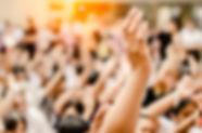 Raising Hands for Participation,Vote,.jp