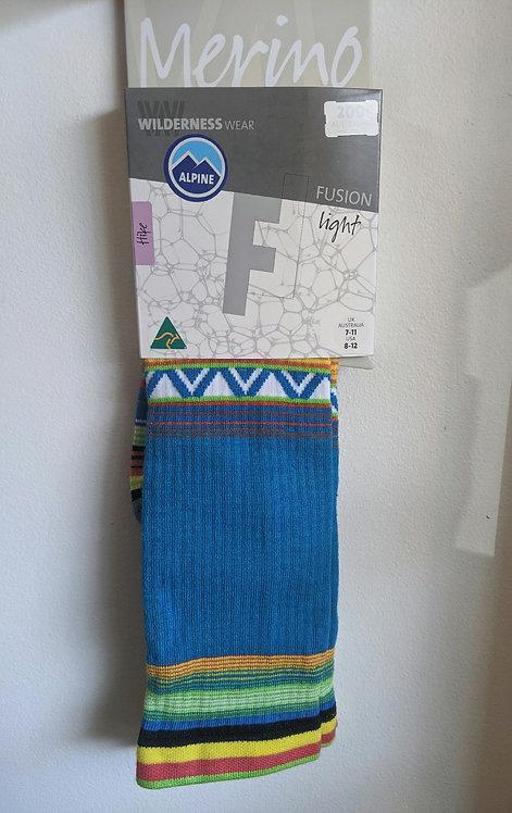 Fusion Light Socks, longer length.