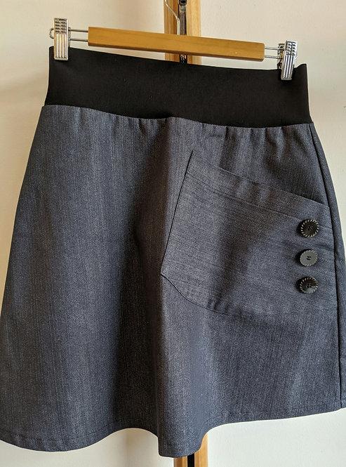 MiM Melbourne Button Pocket Skirt