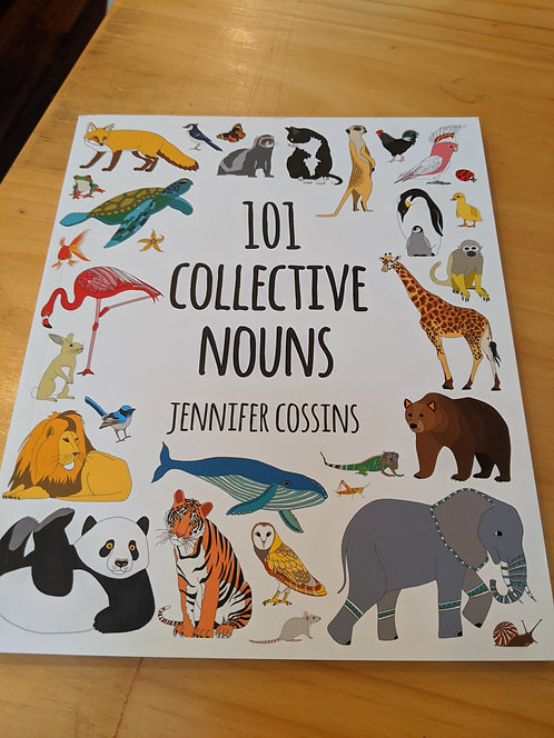 101 Collective Nouns Soft Cover
