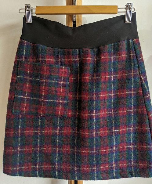 MiM Melbourne Wool check skirt