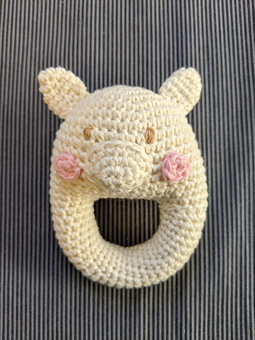 Crocheted Animal Rattles