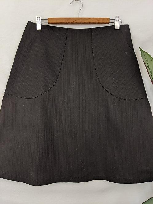 Ena Designs My Black  Denim Skirt.