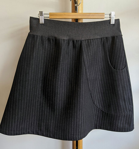 MiM Melbourne Pinstripe Denim Skirt