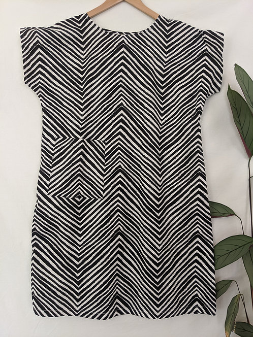 MiM Melbourne Chevron Pocket Dress