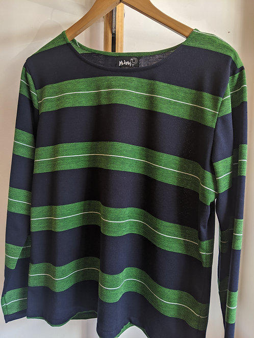 MiM Melbourne LIME  Long sleeve Top.