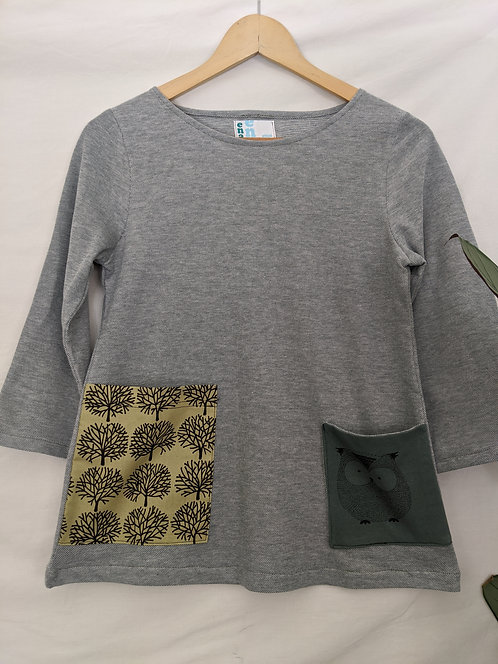 Ena Designs Wise and Sly 3/4 Top