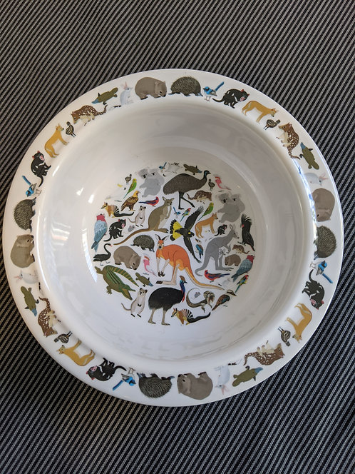 Melamine bowl- Australian Animals