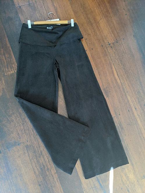 MiM Melbourne Chocolate Velvet Foldover Pants