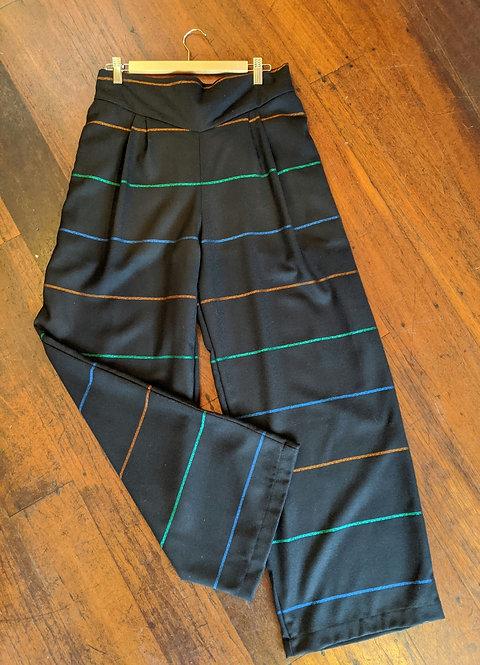 Ena Designs Navy Vera Pants