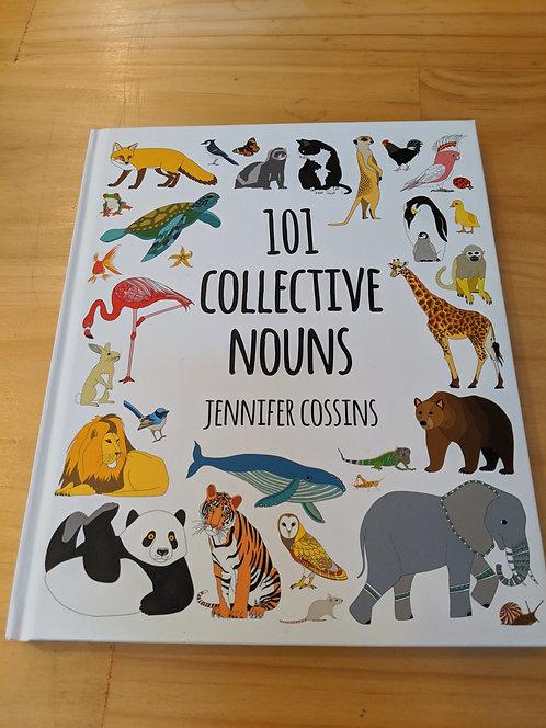 101 Collective Nouns Hard Cover
