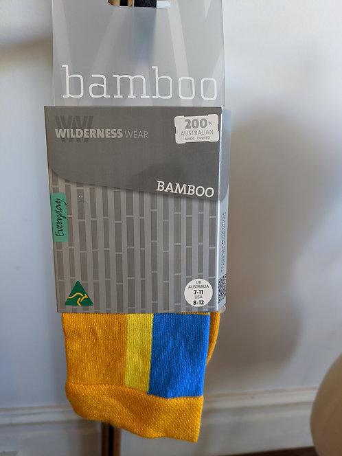 Bamboo Socks- Pumpkin Pie