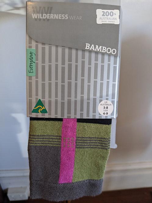 Bamboo Socks- Patterned