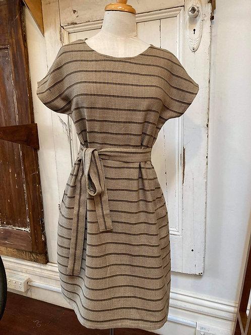 Ena Designs Belted Kazam Dress