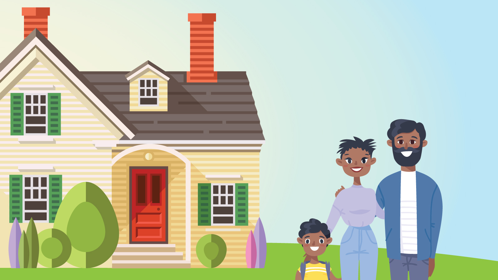 Buying the home