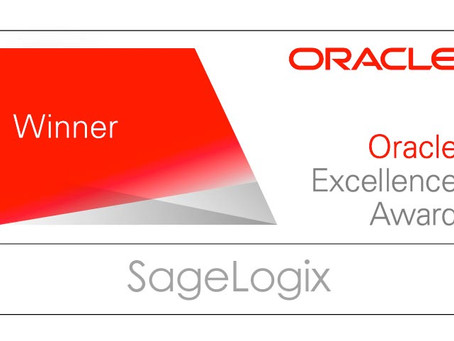 SageLogix Receives Oracle Excellence Award