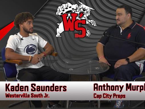 2020 Football: Kaden Saunders - Westerville South (Interview)