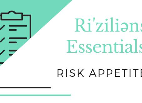 Ri'ziliens Essentials - Risk Appetite