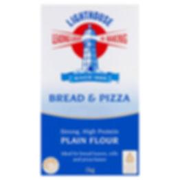 Lighthouse Bread and Pizza Plain Flour 1kg