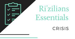 Ri'ziliens Essentials - Crisis